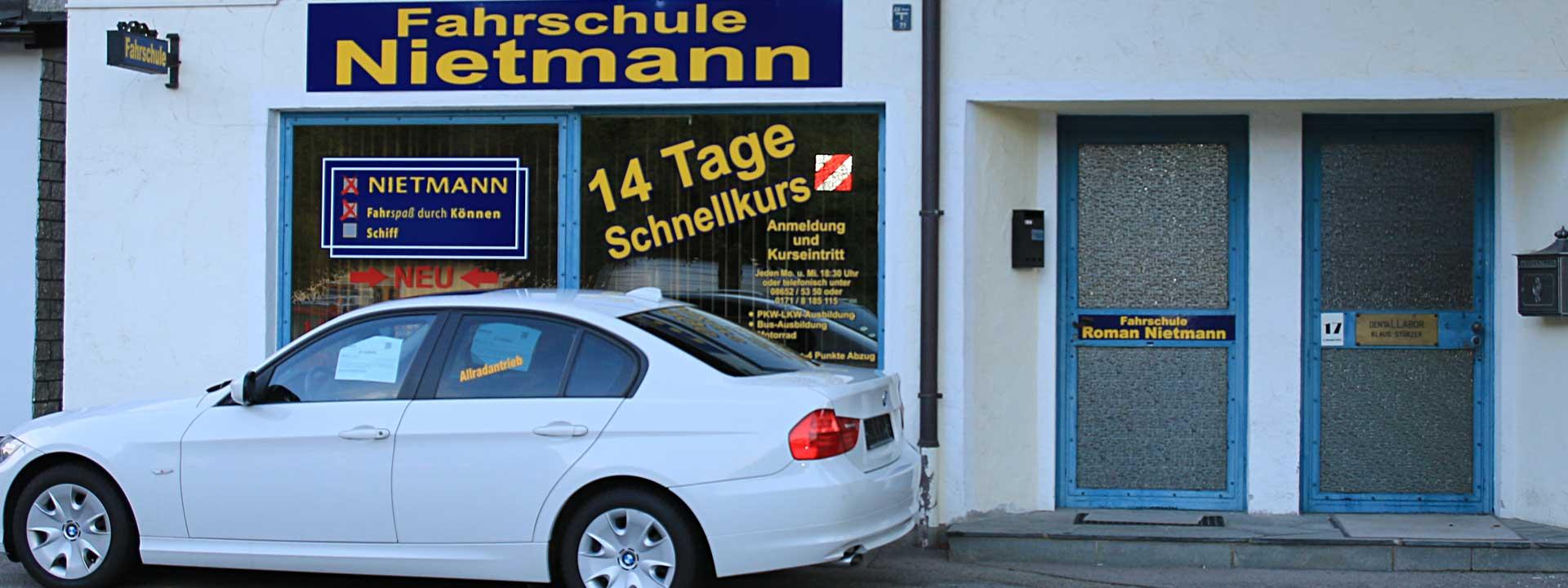 Standort der Fahrschule in Berchtesgaden