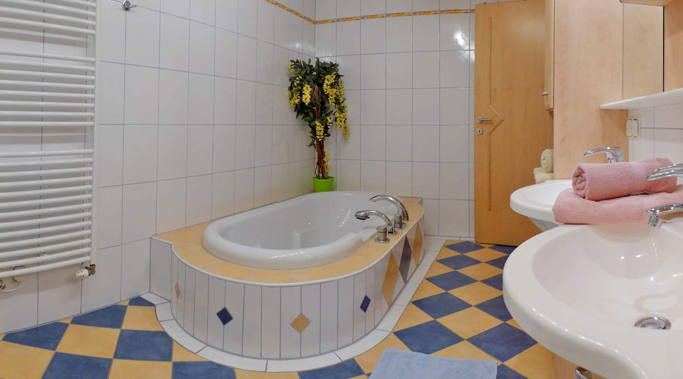 Ein Bad in der Ferienwohnung