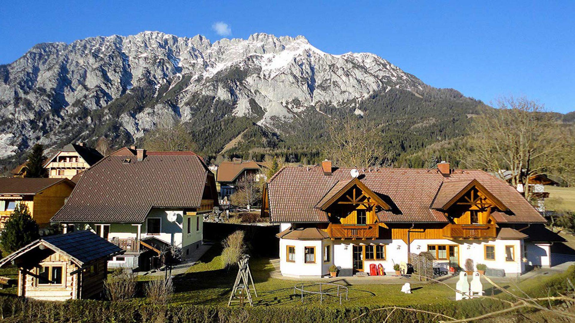 Das Haus Reinbacher mit seinen Ferienwohnungen